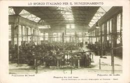 POSTAL DE NAPOLES LO SFORZO ITALIANO PER IL MUNIZIONAMIENTO - PREPARAZIONE DEI BOSSOLI - Napoli