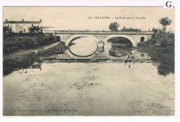 CPA (85) Vélluire- Le Pont Sur La Vendée, Pêcheurs à La Ligne, Animée - (072) - Sonstige Gemeinden