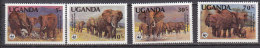 D0393 - UGANDA OUGANDA Yv N°316/19 ** ANIMAUX ANIMALS - Uganda (1962-...)