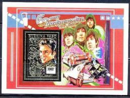 BURKINA FASO Elvis Presley, Les Beatles. Michel BF 145. ** MNH - Zangers