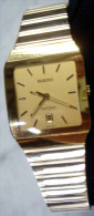 Vintage RADO Diastar Gold Mantel Unisex 129.0267.3 - Watches: Old