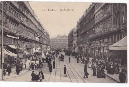 LILLE. - Rue Faidherbe Animée - Lille