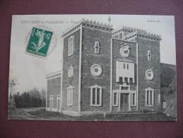 CPA 21 CHEVIGNY EN VALIERE écrit Vallière Tours De Babel RARE PLAN 1911 Canton LADOIX SERRIGNY - Autres Communes