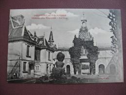 CPA 21 CHEVIGNY EN VALIERE écrit Vallières Chateau Des Tourelles La Cour  Canton LADOIX SERRIGNY - Autres Communes