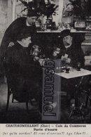 Chateaumeillant - Bar - Café Du Commerce Partie D'écarté – Jeu De Cartes, Verres De Vin. - (voir Scan). - Playing Cards