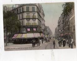 PARIS RUE DE LA GAIETE MAISON A SOUYRI CARTE COLORISEE - Distrito: 14