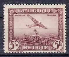 BELGIË - OBP -  1930 - PA 4 - MH* - Poste Aérienne