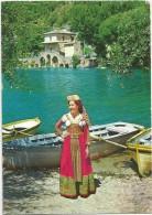 B3904 Costumi Abruzzesi D´Abruzzo - Scanno (L´Aquila) - Ragazza Girl Femme Frau Chica - Folklore / Viaggiata 1969 - Costumes