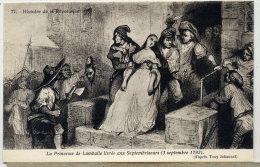 REVOLUTION  PRINCESSE DE LAMBALLE - Postcards