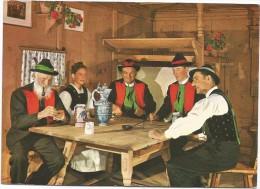 B3906 Merano Meran(Bolzano) - Passatempo Domenicale Di Una Famiglia Altatesina Sudtiroler Bauern Am Sonntag Zuhause - Giochi Regionali