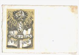 """Paolo Rocca (Ferrara) """"Fidenter Non Et Trepide"""", Con Firma Autografa Al Retro - F.p.- Anni 1920/1930 - Ferrara"""
