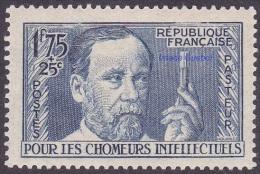 France - N°  385 * Célébrité - Pour Les Chômeurs Intellectuels -> Louis Pasteur - Frankreich