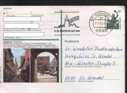 Ganzsachen  - Postkarte   Motiv: Lippstadt  - Echt Gelaufen - Cartes Postales - Oblitérées