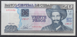 2012-BK-8 CUBA. UNC. 2012. 20$. CAMILO CIENFUEGOS.