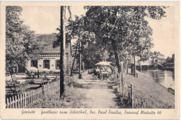 GREISITZ Gasthof Zum Boberthal Mednitz Gryzyce Zagan KÜPPER über Sagan 7.4.1943 Gelaufen - Schlesien