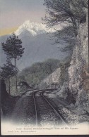 Italy PPC Ferrovia Parlezzo-Menaggio Vista Sul Mte Legnone Railway Wehrli A. G. Kilchberg-Zürich (2 Scans) - Como