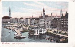 HAMBURG, Germany; Alter Jungfernstieg, 10-20s - Germany