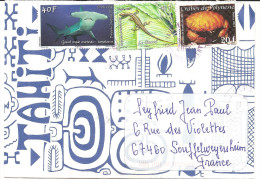 Belle Enveloppe De Polynésie - French Polynesia