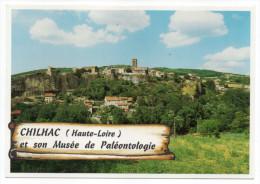 CHILHAC--Vue Générale---Village Fortifié Construit Sur Une Coulée De Basalte (Musée Paléontologie) éd Amis De Chilhac - Other Municipalities