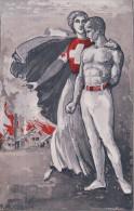 F. Huguenin, Gymnaste Et Infirmière, Genève Gymnastique Plainpalais, En Faveur Des Soldats Suisses (2108) - Non Classés