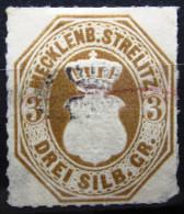 MECKLENBOURG-STRELITZ                   N° 6           OBLITERE - Mecklenburg-Strelitz