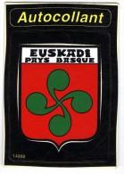 64 EUSKADI  PAYS BASQUE   AUTOCOLLANT - Frankrijk