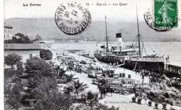 20 - AJACCIO - Les Quais - Ajaccio