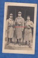 CPA Photo - SOMAIN / ANZIN - Groupe De Poilu Du 153e Régiment Avec Casque Fusil à Baïonnette - WW1 - War 1914-18