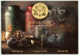 Mariage Frères - Maison De Thé à Paris En 1854 - Publicité
