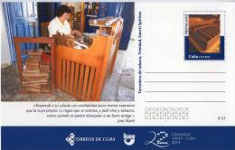 Lote TP8,  Cuba, 2013, Entero Postal, Postal Stationary, Upaep, Torcedora De Tabaco, Cigar, Tobacco - Maximumkaarten