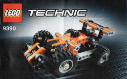 CATALOGUE LEGO Technic  9390  (20cmx12,5cm) - Catalogs