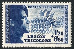 FRANCE 1942 - Yv. 565 **   Cote= 12,50 EUR - Légion Tricolore ..Réf.FRA27559 - Nuovi