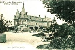 Reproduction CPA 51 (Marne) Epernay  - Le Château De Pékin Avec Voiture (Champagne Mercier Et Champagne Comtesse Lafond) - Epernay