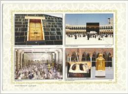 Saudi Arabia 4 Picture Postcard  Holy  Mosque Ka´ba Macca Post Card Masjid - Islam