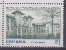 """España 14-Noviembre-1997 """"150º Aniversario De La Facultad De Veterinaria De Córdoba"""" Nuevo Edifil 3518   S-715 - 1931-Hoy: 2ª República - ... Juan Carlos I"""
