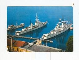 TARANTO,Stazione TORPEDINIERE-1969-Navi Attraccate-!!!!!!!!!! - Taranto