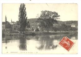 Cp, 77, Thomery, Une Vue Sur La Seine, Voyagée 1908 - France