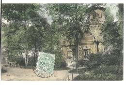 Cp, 92, Clichy, Le Parc, Le Pavillon Du Gard, Voyagée 1907 - Clichy