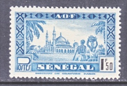 SENEGAL  194 C   *    VICHY Issue - Senegal (1887-1944)
