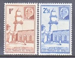 COTE  FRANCAISE  DES  SOMALIS  181-2    *    VICHY Issue - French Somali Coast (1894-1967)