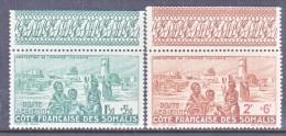 COTE  FRANCAISE  DES  SOMALIS  CB 1-2    **    VICHY Issue - French Somali Coast (1894-1967)