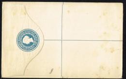 1891  Victoria Registered 5 Cents Envelope  Unused - Straits Settlements