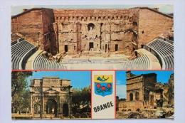 Le Theatre Antique, L'Arc De Triomphe, Les Ruines Du Gymnase, ORANGE, FRANCE - Orange
