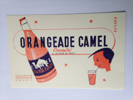 ORANGEADE CAMEL Exclusivité Caves De La Craffe NANCY - Buvards, Protège-cahiers Illustrés