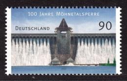 4.- 023 GERMANY ALLEMAGNE 2013. 100 Years Möhnetal Lock - [7] República Federal