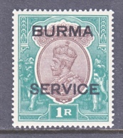 BURMA  O 11   * - Burma (...-1947)