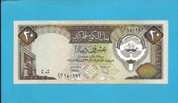 KUWAIT - 20 Dinars - ( 1986 - 91 ) - P 16.b - Sign. 6 - UNC. - Stolen By Iraqi Forces -Denominator / 11 -SEE Description - Kuwait