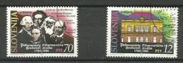 ESLOVENIA 1994 - FILARMONICA - SET OF 2 STAMPS - Slovénie
