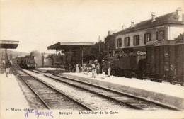 52    BOLOGNE         L' Intérieur De La Gare - Autres Communes