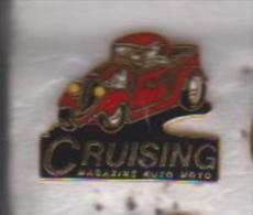 Pin's CRUISING - Rallye